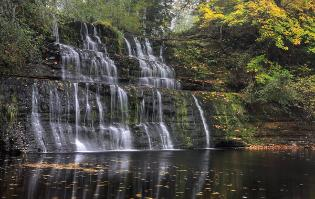 Camp Creek Falls - October
